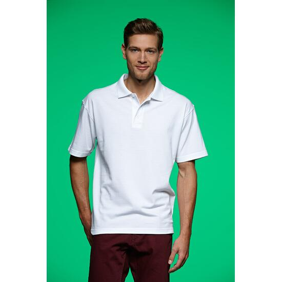 James & Nicholson Polo-Piqué Heavy grau