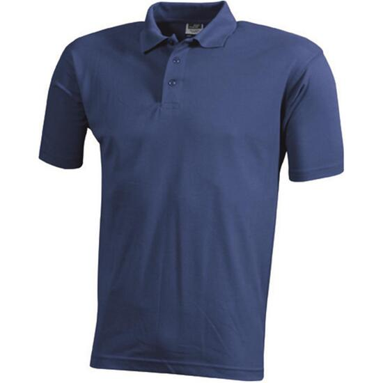 James & Nicholson Worker Polo königsblau