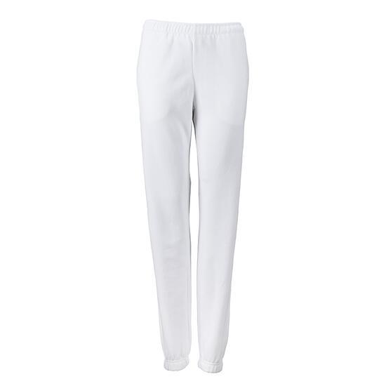 James & Nicholson Ladies Jogging Pants weiß