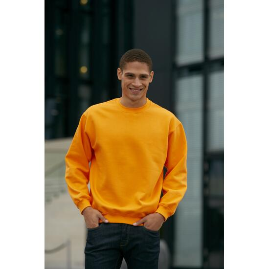 James & Nicholson Round-Sweat Heavy orange