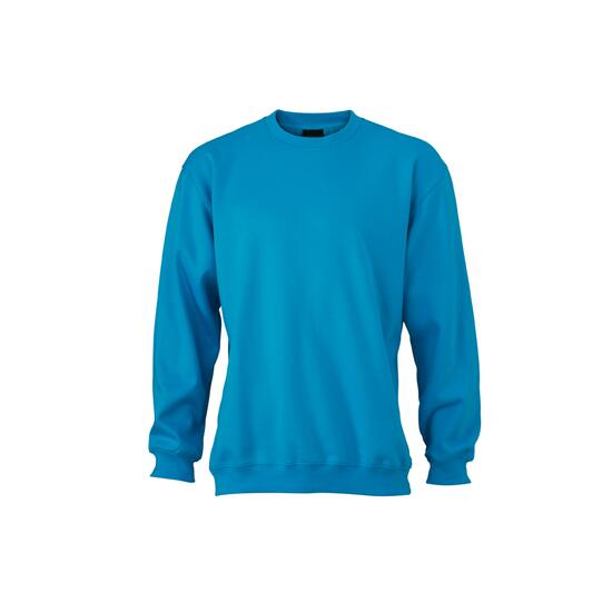 James & Nicholson Round-Sweat Heavy blau