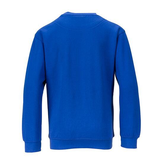 James & Nicholson Round-Sweat Heavy Junior blau