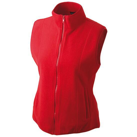 James & Nicholson Girly Microfleece Vest rot