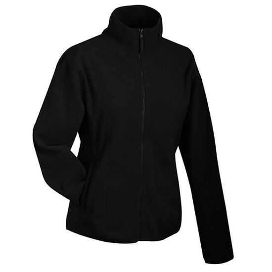 James & Nicholson Girly Microfleece Jacket schwarz