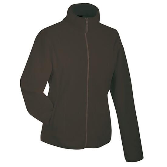 James & Nicholson Girly Microfleece Jacket braun
