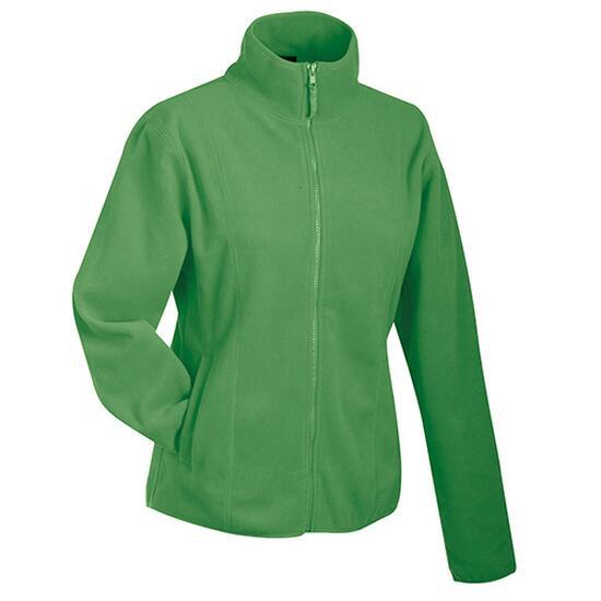James & Nicholson Girly Microfleece Jacket grün