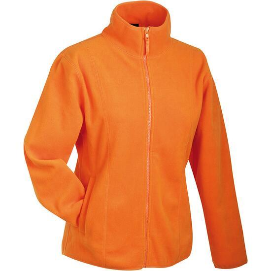 James & Nicholson Girly Microfleece Jacket orange