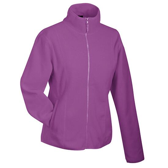 James & Nicholson Girly Microfleece Jacket lila