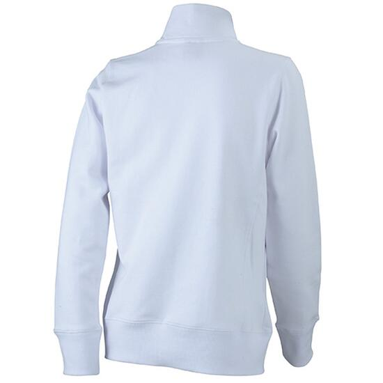 James & Nicholson Ladies Jacket weiß