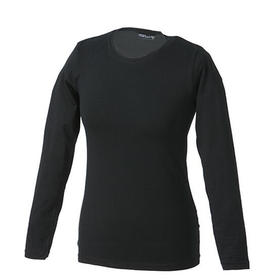James & Nicholson Tangy-T Long-Sleeved schwarz