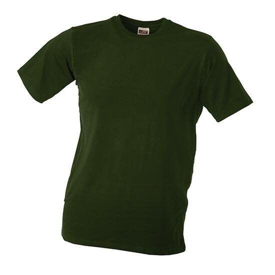 James & Nicholson Elastic-T braun/grün