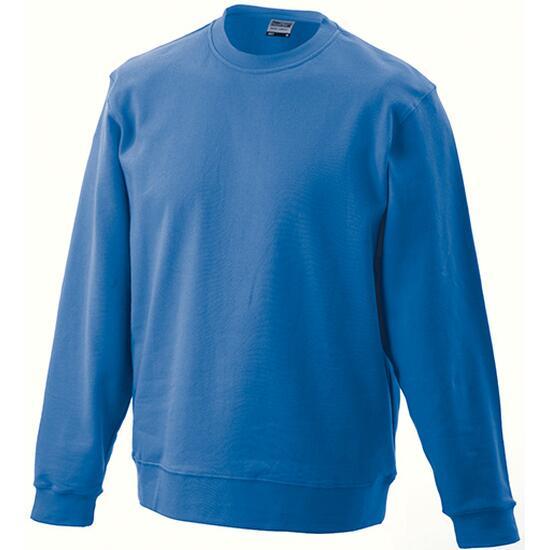 James & Nicholson Basic Sweat blau
