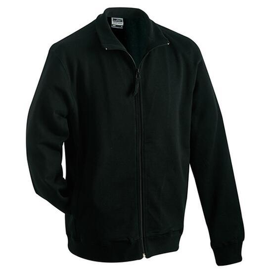 James & Nicholson Sweat Jacket schwarz