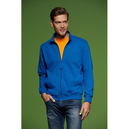 James & Nicholson Sweat Jacket blau