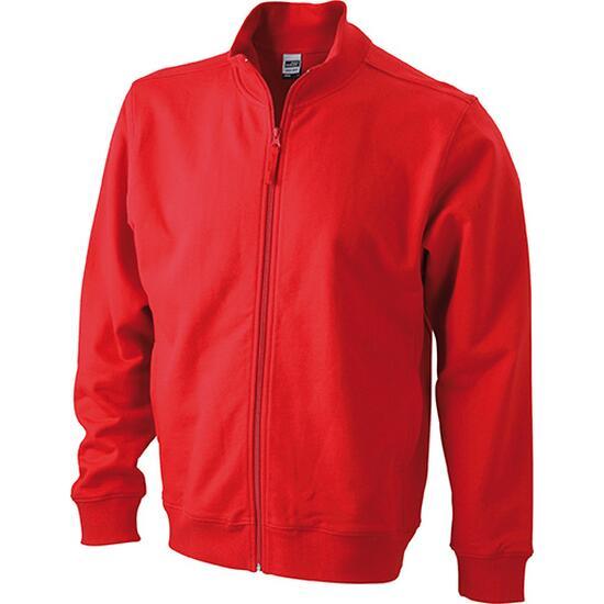 James & Nicholson Sweat Jacket rot