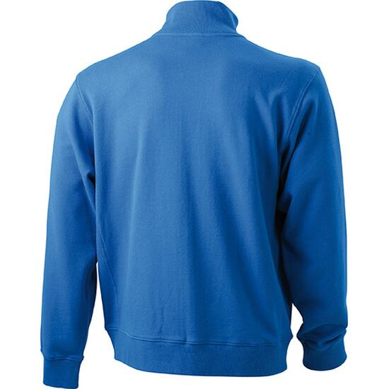 James & Nicholson Sweat Jacket blau