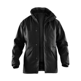 Winter Softshell Jacke anthrazit/schwarz S