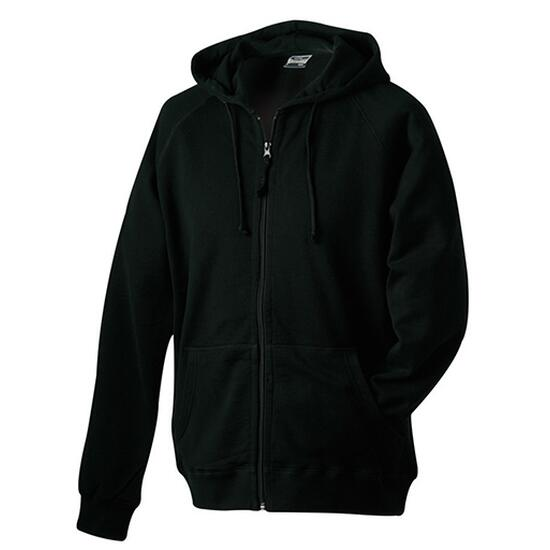 James & Nicholson Hooded Jacket schwarz
