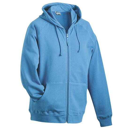 James & Nicholson Hooded Jacket blau
