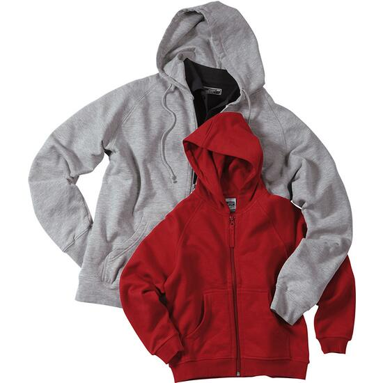 James & Nicholson Hooded Jacket rot