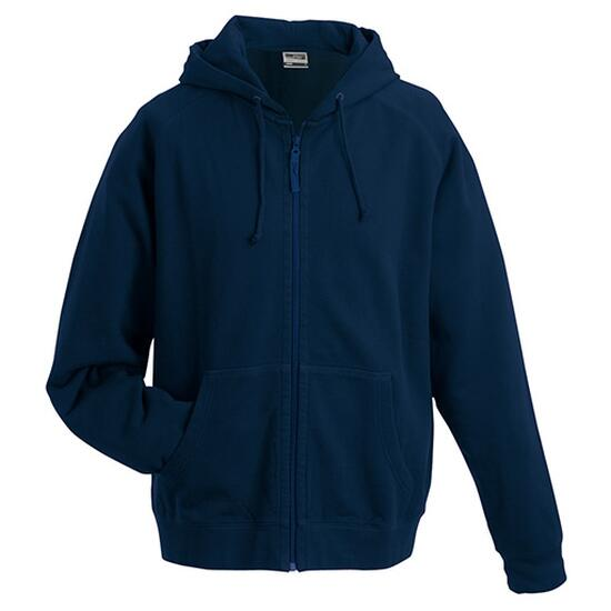 James & Nicholson Hooded Jacket blau