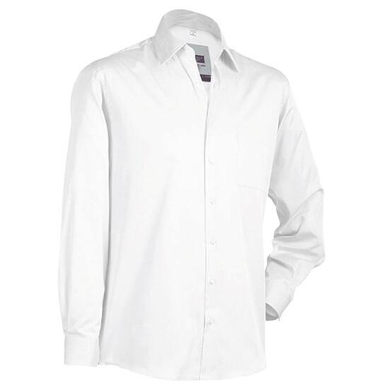 James & Nicholson Business Shirt Long weiß