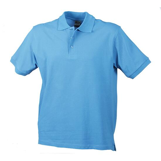 James & Nicholson Classic Polo blau