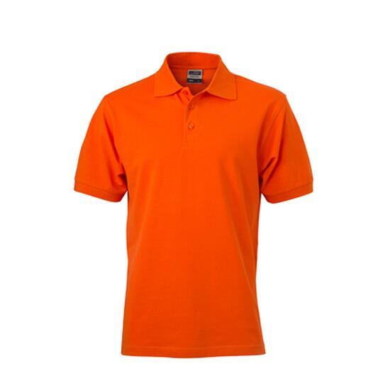 James & Nicholson Classic Polo orange