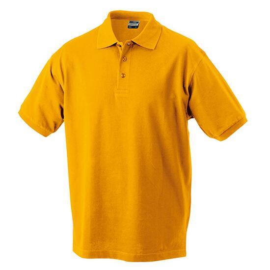 James & Nicholson Classic Polo gelb