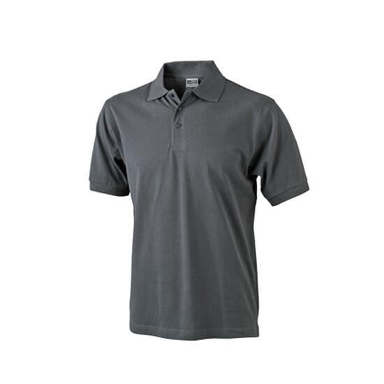 James & Nicholson Classic Polo grau