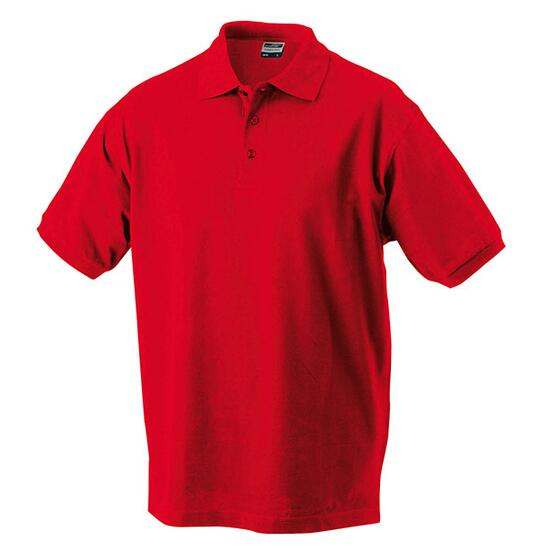 James & Nicholson Classic Polo rot