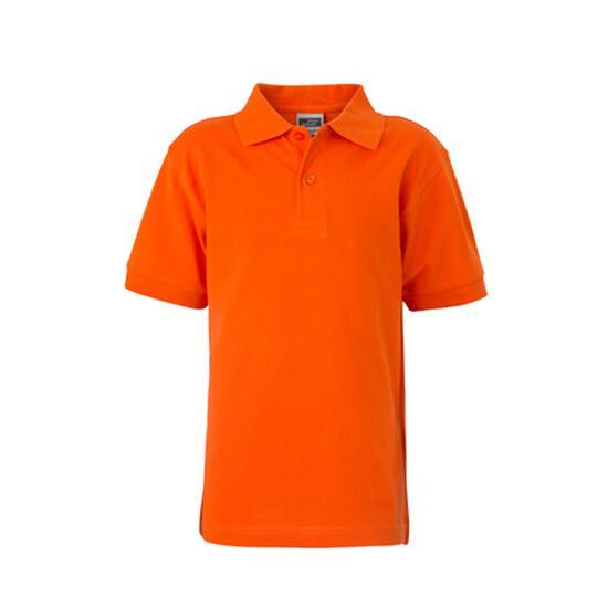 James & Nicholson Classic Polo Junior orange