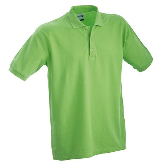 James & Nicholson Classic Polo Junior grün