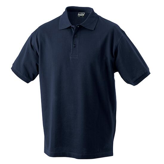 James & Nicholson Classic Polo Junior blau
