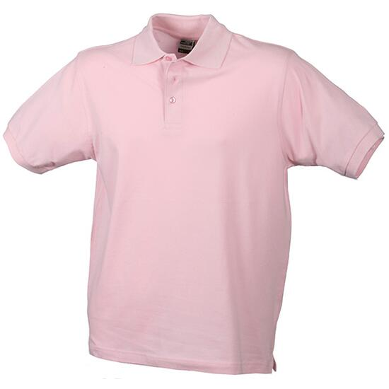 James & Nicholson Classic Polo Junior pink/rot