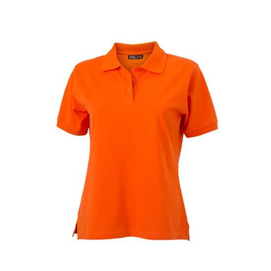 James & Nicholson Classic Polo Ladies orange