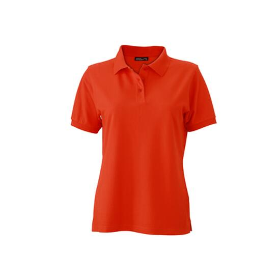 James & Nicholson Classic Polo Ladies rot