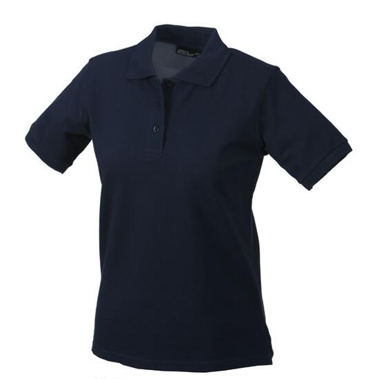 James & Nicholson Classic Polo Ladies blau