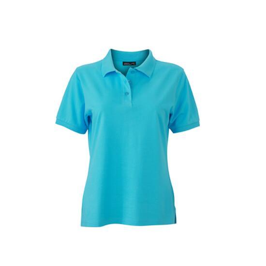 James & Nicholson Classic Polo Ladies blau