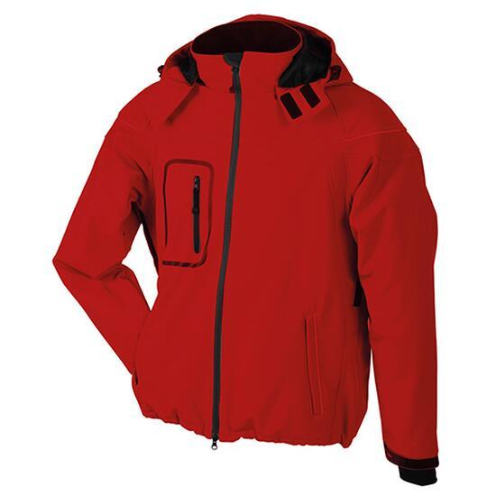 James & Nicholson Men?s Winter Softshell Jacket rot