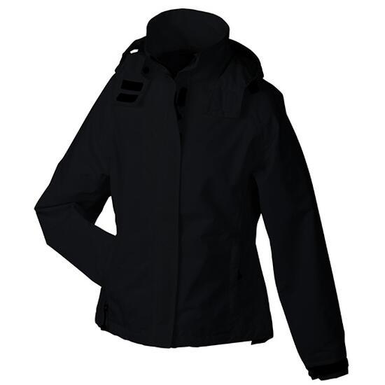 James & Nicholson Ladies Outer Jacket schwarz