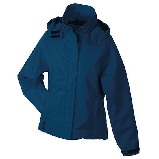 James & Nicholson Ladies Outer Jacket blau
