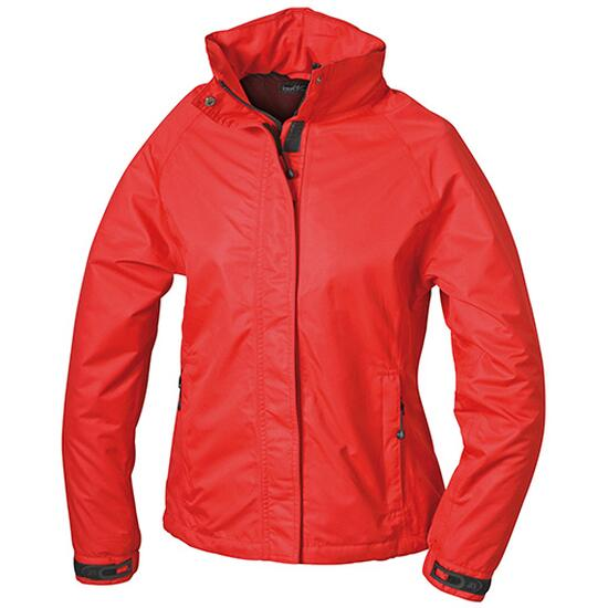 James & Nicholson Ladies Outer Jacket rot