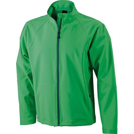 James & Nicholson Mens Softshell Jacket grün
