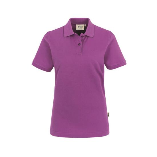 Hakro Damen-Poloshirt Top purpur