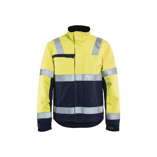 Multinorm Craftsmen Winterjacket Gelb/Marineblau