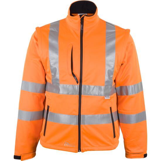 Prevent® Warnschutz-Softshell-Jacke