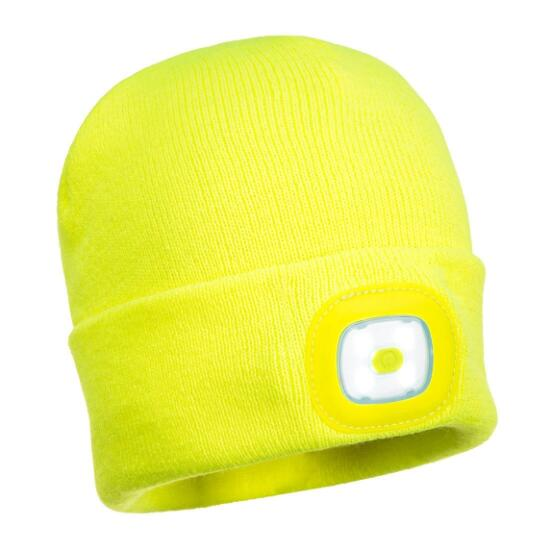 Mütze mit wiederaufladbaren LED