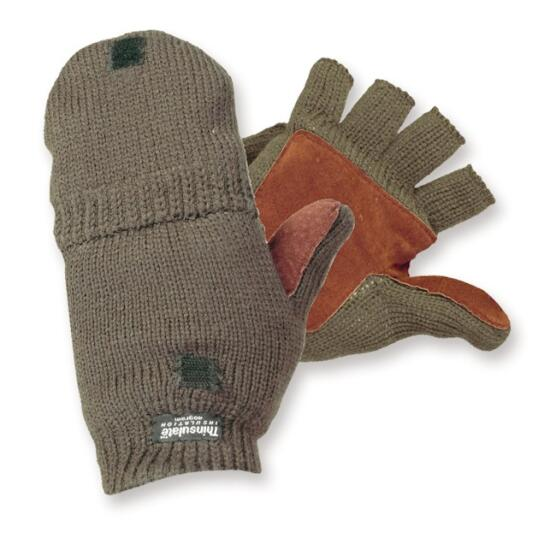 Strick-Jägerhandschuh