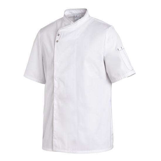 Kochjacke 1/2 Arm weiß